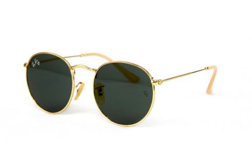 Ray Ban Round Metal 3447-black-g